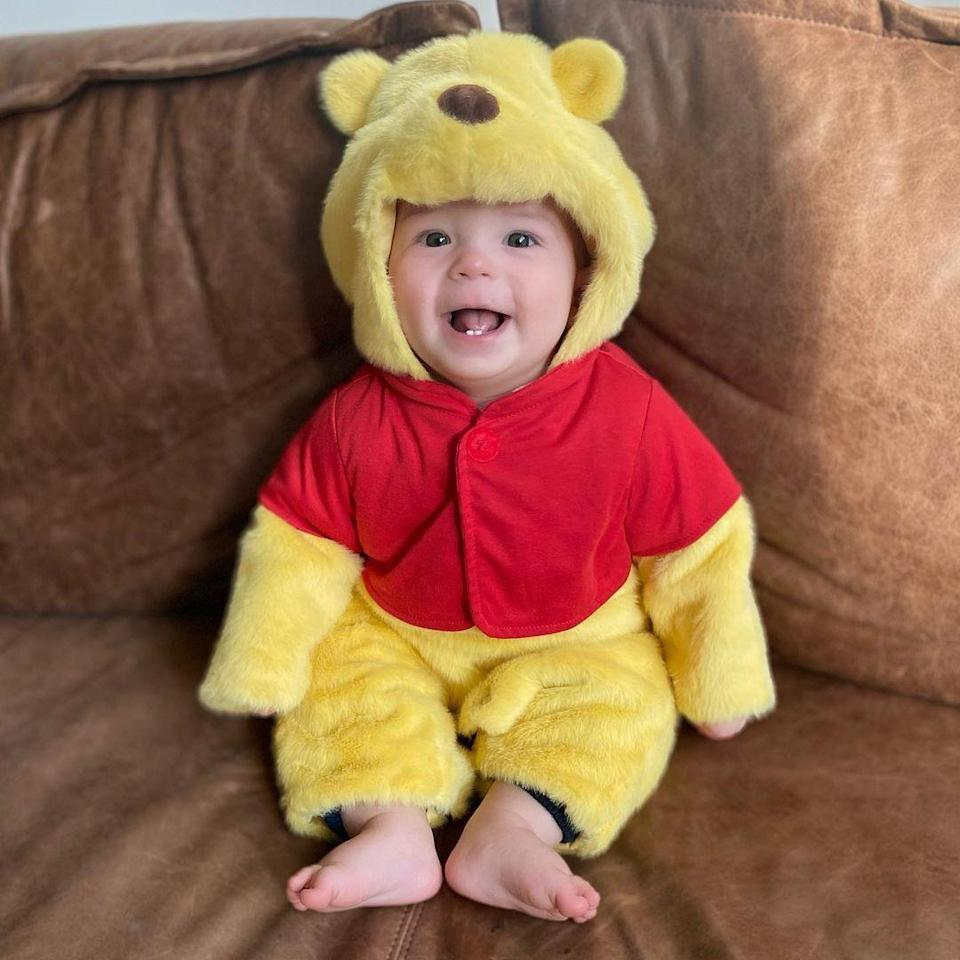 <p>What better way to head into the new year than by looking at this little Pooh Bear face? 😍</p><p>Jenna and Steve welcomed baby Callum on March 6, just in time to gift their fans with what's probably the best Halloween baby picture of all time.</p>