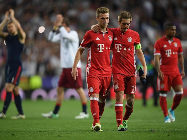 Philipp Lahm played his last Champions League match for the side on Tuesday: Getty
