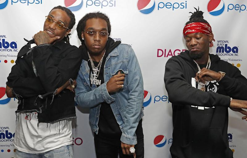 Migos attends The National Black MBA Association Presents 2nd Annual Pepsi MBA Live at The Metropolitan on October 14, 2016 in New Orleans, Louisiana: Tyler Kaufman/Getty