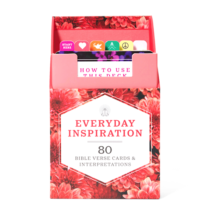 """<p>womansday.com</p><p><strong>$14.95</strong></p><p><a href=""""https://shop.womansday.com/everyday-inspiration.html"""" rel=""""nofollow noopener"""" target=""""_blank"""" data-ylk=""""slk:Shop Now"""" class=""""link rapid-noclick-resp"""">Shop Now</a></p><p>Housed in a convenient, portable case, these empowering, healing Bible verses will help Mom renew hope, find peace, and uplift others.</p><p><strong>RELATED:</strong> <a href=""""https://www.womansday.com/life/g23800533/best-christian-gifts-for-women/"""" rel=""""nofollow noopener"""" target=""""_blank"""" data-ylk=""""slk:35 Gifts for Christian Women That Will Speak to Her Soul"""" class=""""link rapid-noclick-resp"""">35 Gifts for Christian Women That Will Speak to Her Soul</a></p>"""