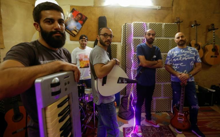 The band Safar was formed two decades ago and remained little known to the wider Syrian public until one of its songs went viral last month