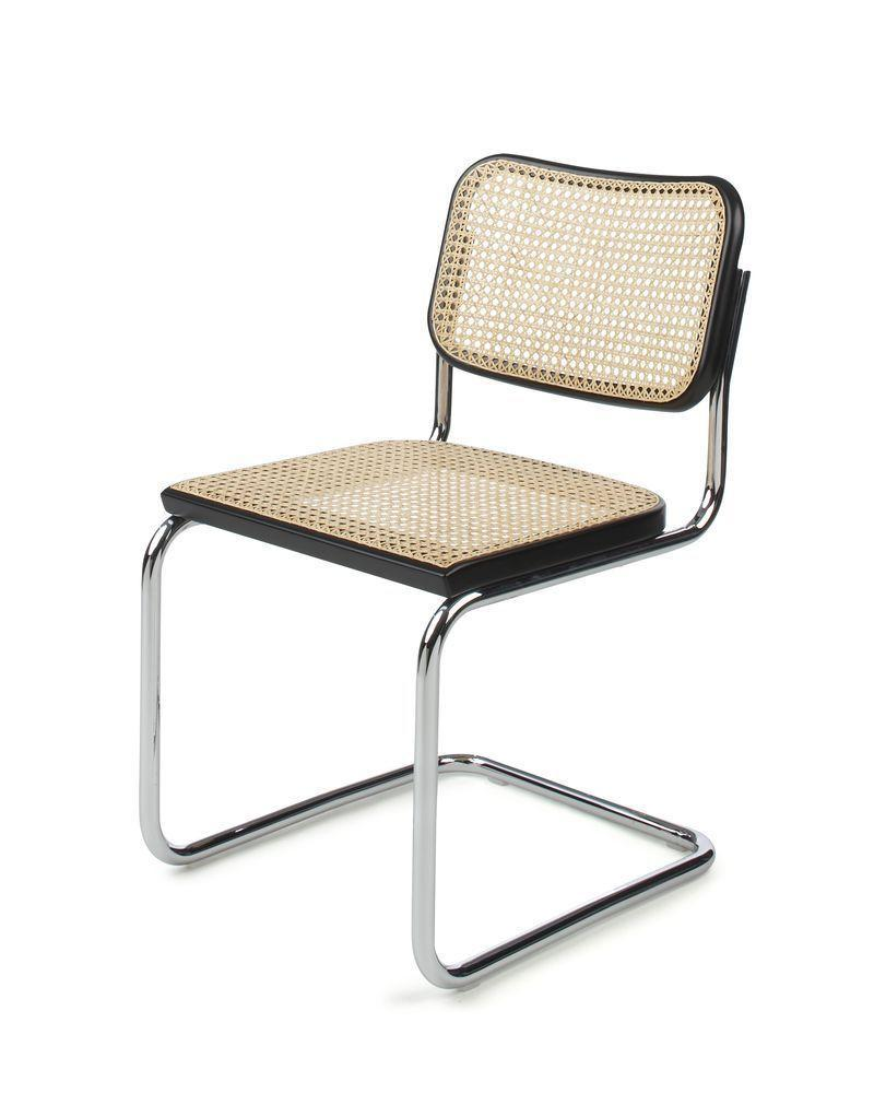 """<p>Designed in 1928 by the Bauhaus alumni and teacher, this cantilevered design marries traditional craftsmanship with industrial methods and materials. Nearly 100 years on, it remains one of his best known works. For those who struggle tracking down vintage versions, reissues are available at <a href=""""https://www.knoll.com/product/cesca-chair-armless"""" rel=""""nofollow noopener"""" target=""""_blank"""" data-ylk=""""slk:Knoll"""" class=""""link rapid-noclick-resp"""">Knoll</a>.</p>"""