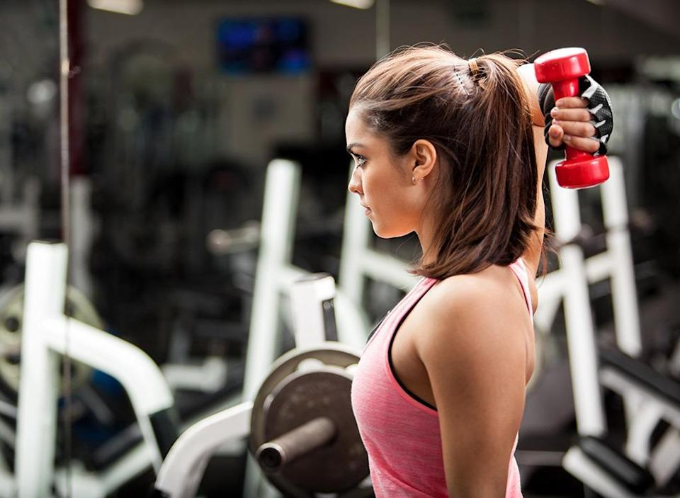 Why you cant lose weight women lifting weights