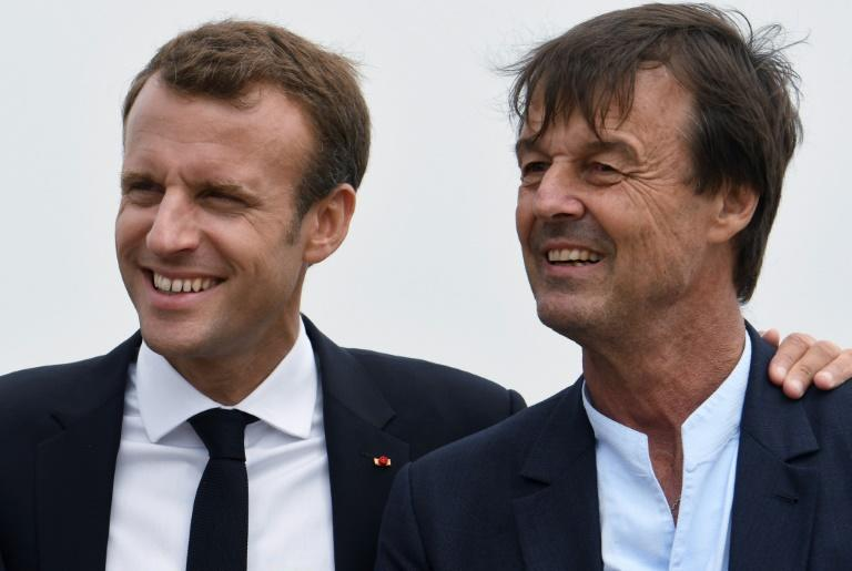 Critics said Nicolas Hulot was simply an environmentally friendly fig-leaf for Emmanuel Macron's government