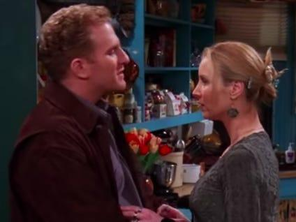 phoebe and gary on friends