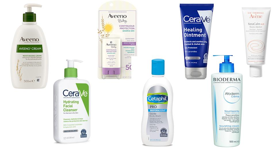 These are the National Eczema Association-approved products for eczema to buy now [Photo: Yahoo Style UK]