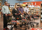 """<p>Shopping in the Flavortown Market seems like a dream, honestly: Guy Fieri's there, the store's empty, and you're out in mere minutes. Unlike other shows, the challenges on this one are highly probable, like having a budget or being out of an ingredient. Plus, we have it on the DL that <a href=""""https://www.delish.com/restaurants/a52775/what-its-really-like-being-on-guys-grocery-games-food-network/"""" rel=""""nofollow noopener"""" target=""""_blank"""" data-ylk=""""slk:Fieri's a total softie"""" class=""""link rapid-noclick-resp"""">Fieri's a total softie</a> behind the scenes.</p>"""