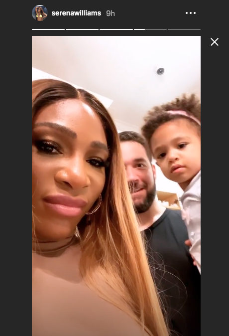 Photo credit: Serena Williams - Instagram