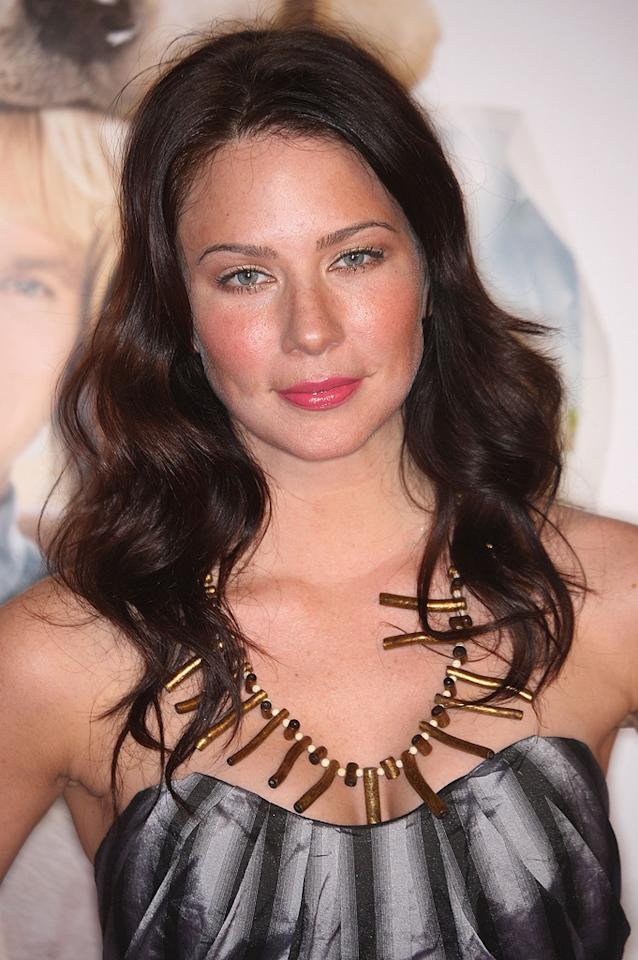 """<a href=""""http://movies.yahoo.com/movie/contributor/1807577712"""">Lynn Collins</a> at the Los Angeles premiere of <a href=""""http://movies.yahoo.com/movie/1809995057/info"""">Marley & Me</a> - 12/11/2008"""