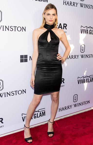 """Andreja Pejic, who stunned on the red carpet in a little black dress, applauded Miley Cyrus for her work. """"I think she is using her celebrity in a positive way and to … create some change,"""" Pejic said. """"It's nice to see and I don't think a lot of celebrities do that. … She's a very genuine person and you can definitely see that she's very excited for this opportunity and the charity and so it's really amazing to see."""""""