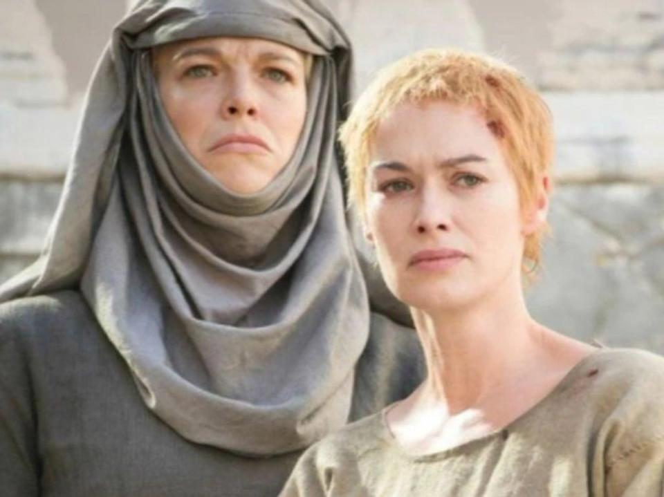 Hannah Waddingham and Lena Headey in 'Game of Thrones' (HBO)