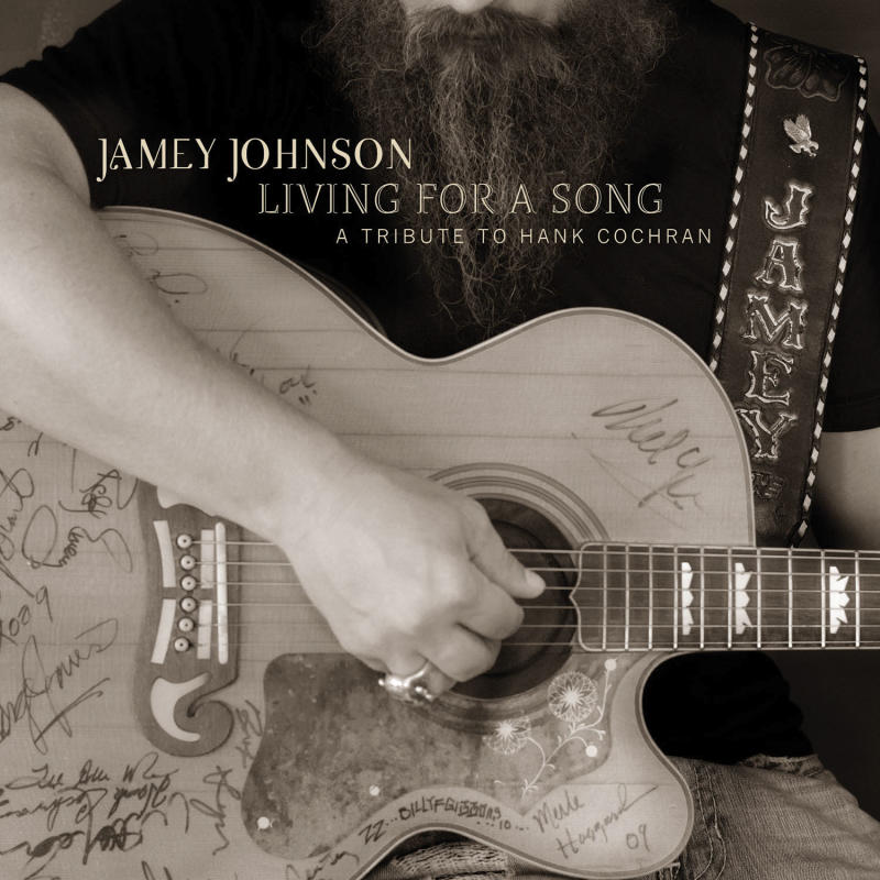 """This CD cover image released by Mercury Nashville shows the latest release by Jamey Johnson, """"Living for a Song: Tribute to Hank Cochran."""" (AP Photo/Mercury Nashville)"""