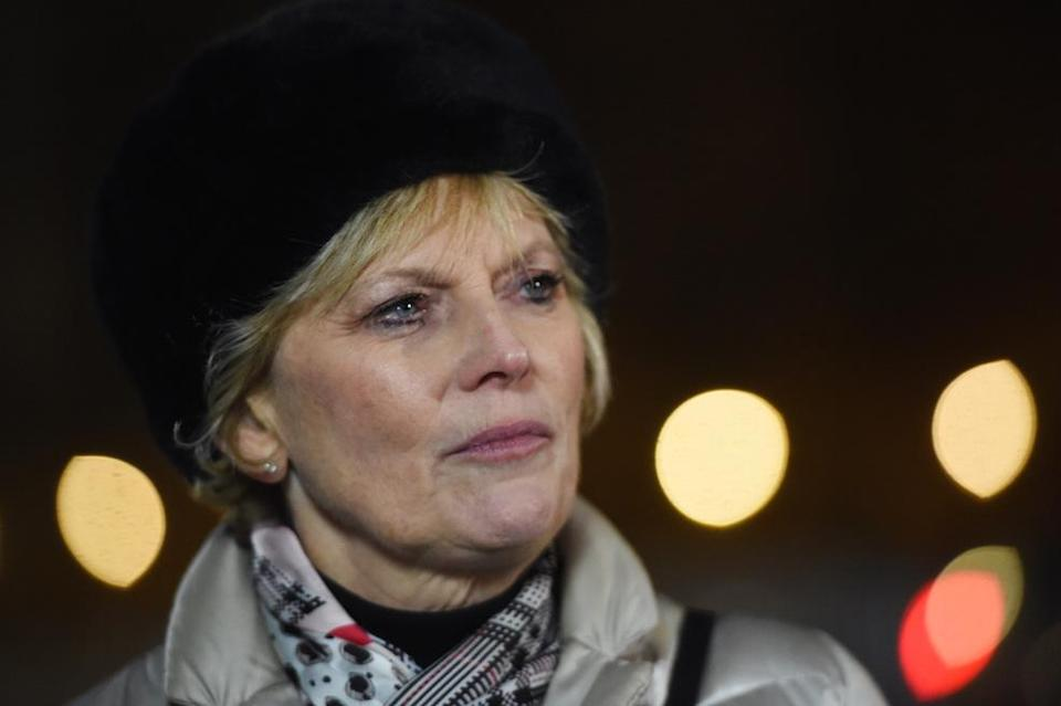 Conservative MP Anna Soubry was verbally abused during live TV interviews (Picture: PA)