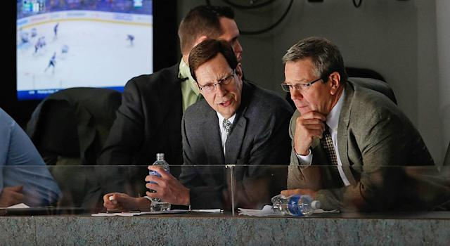 Paul Fenton has long been seen as a GM-to-be. (Photo by John Russell/NHLI via Getty Images)