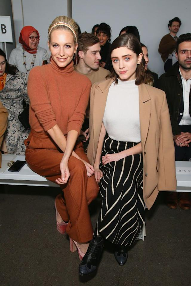 <p>New York Fashion Week's fall/winter 2019 shows have celebrities pulling out all the stops when it comes to fashion and beauty. Here, what the celebs sitting front row are wearing stage-side.</p>