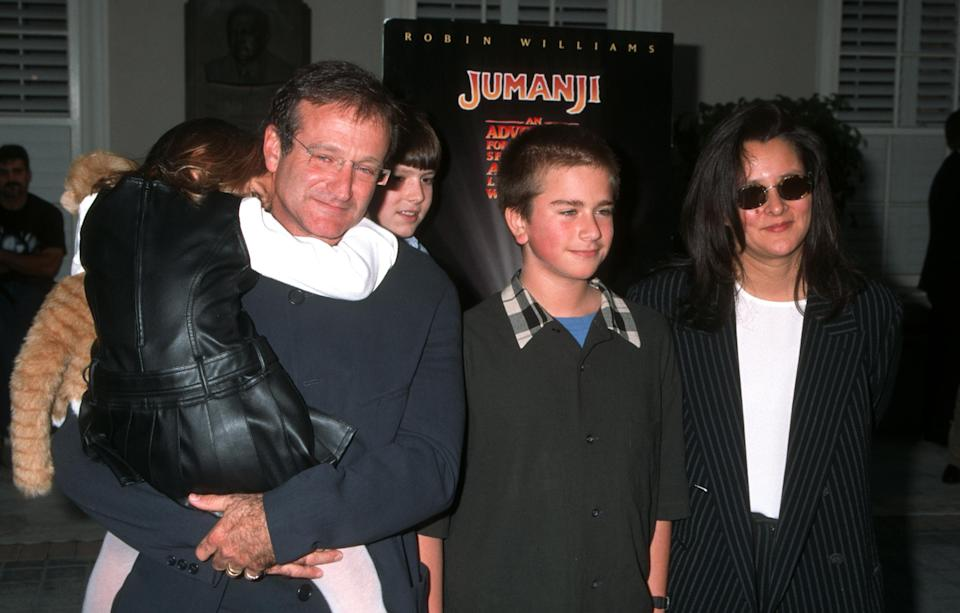 Robin Williams apparently didn't let his younger children watch the movie when it came out (Getty)