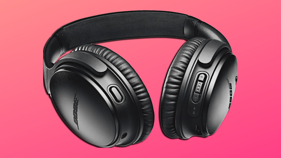 Bose is the gold standard in noise cancelation and audio. (Photo: Amazon/Yahoo Lifestyle)