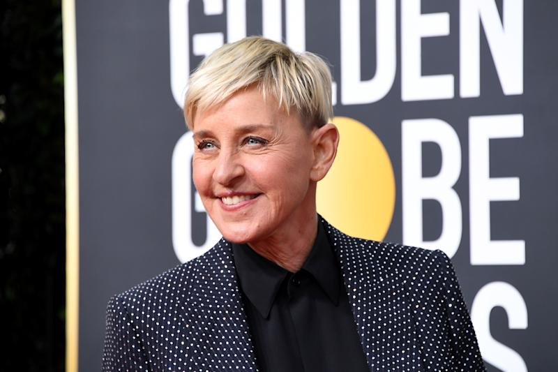 DeGeneres attends the 77th Annual Golden Globe Awards at The Beverly Hilton Hotel on Jan. 5.  (Photo: Steve Granitz via Getty Images)