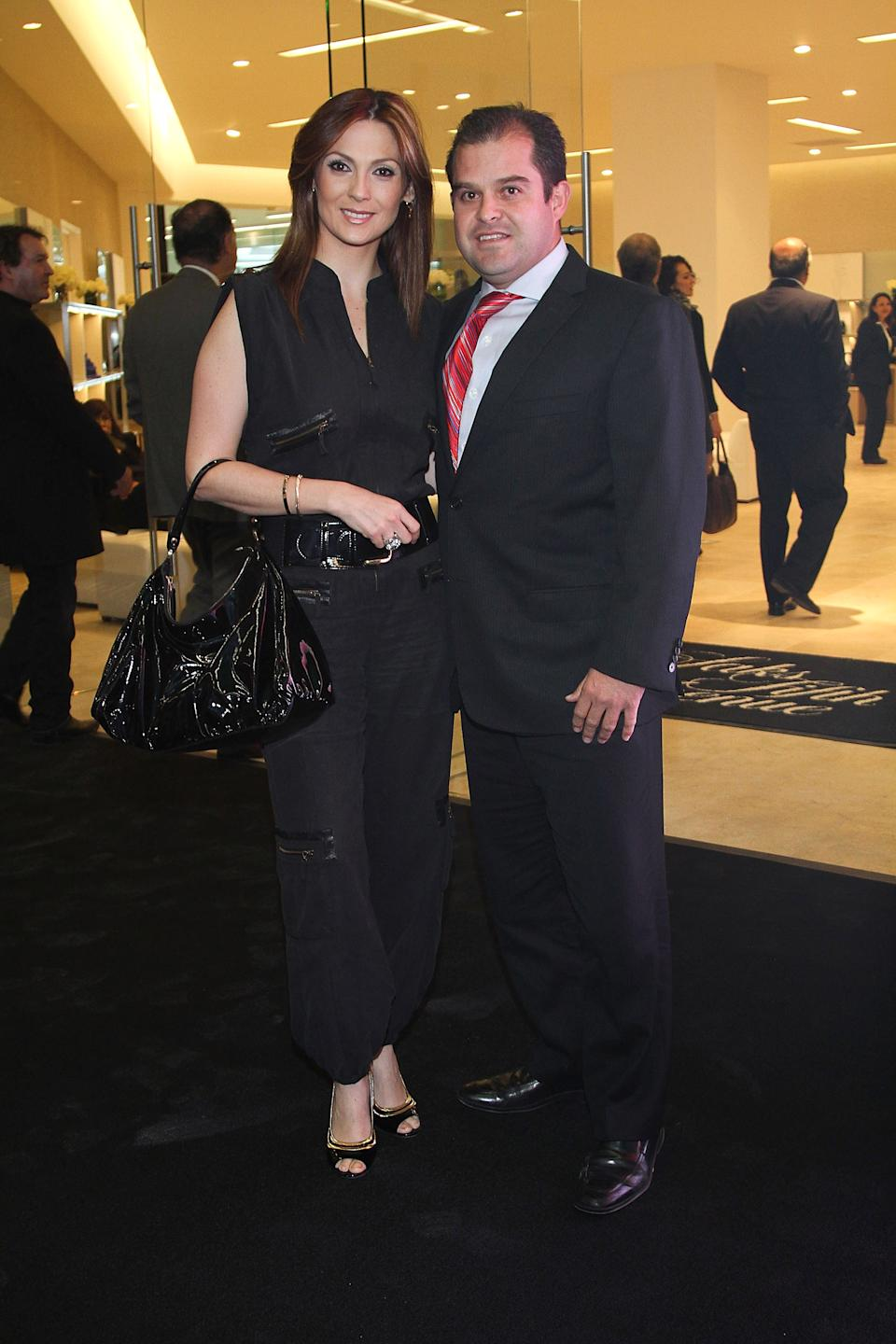 Nora Salinas y Mauricio Becker en el 2010. (Photo by Victor Chavez/WireImage)