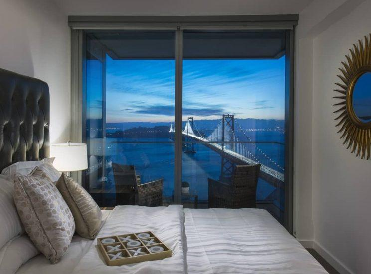Rentals at 399 Fremont currently start around $3,550 a month for an available 420-square-foot studio.