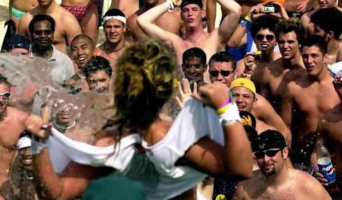 The Short, Sexist History of the Wet T-Shirt Contest, a