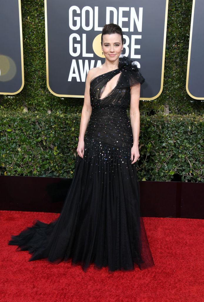 <p>Linda Cardellini attends the 76th Annual Golden Globe Awards at the Beverly Hilton Hotel in Beverly Hills, Calif., on Jan. 6, 2019. (Photo: Getty Images) </p>