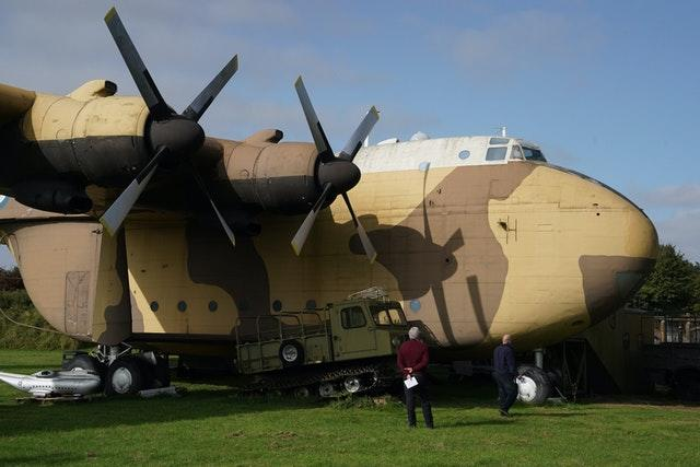 The only remaining RAF XB259 Blackburn Beverley C1 heavy transport plane is going under the hammer (Owen Humphreys/PA)