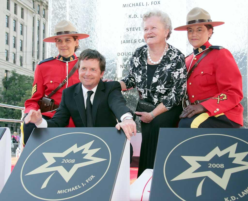 "Also getting a star on the Walk of Fame, albeit in Canada, was 80s sitcom star Michael J. Fox. The actor already has a star on the Hollywood Walk of Fame. George Pimentel/<a href=""http://www.wireimage.com"" target=""new"">WireImage.com</a> - September 6, 2008"