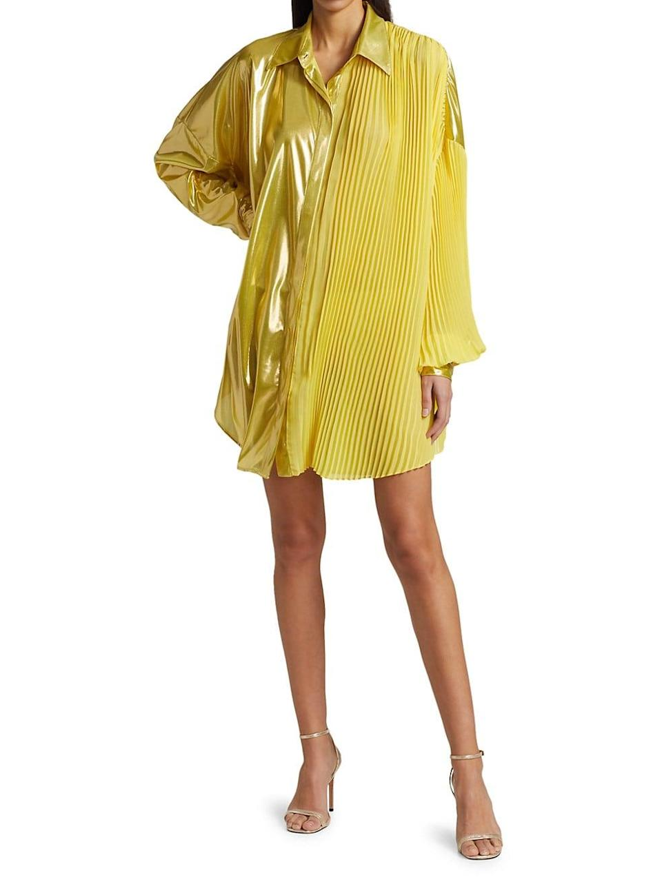 Honesty Metallic Tunic