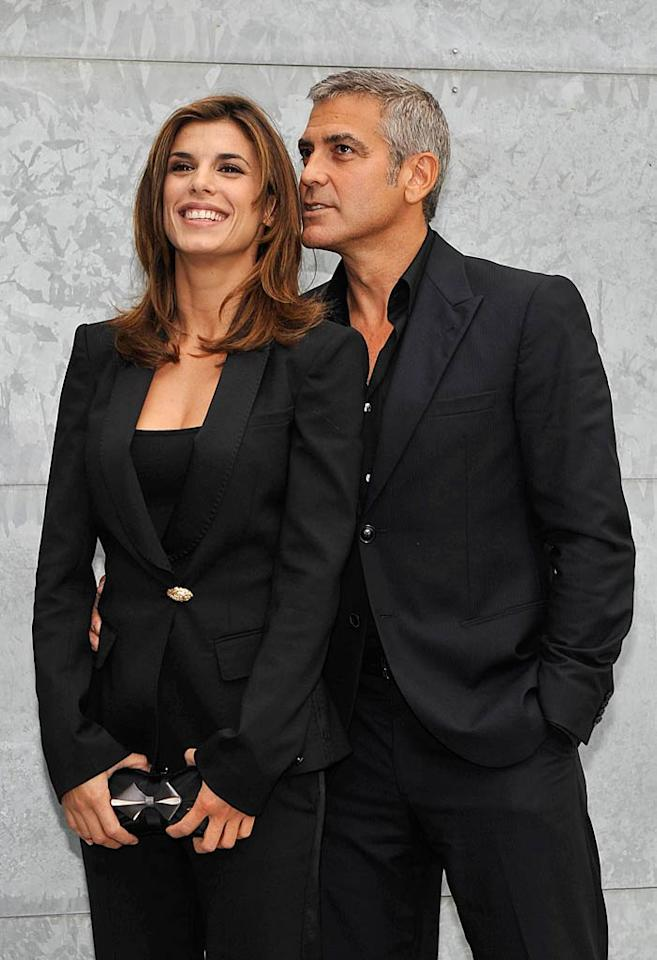 """The German newspaper <i>Bild</i> spoke to friends of George Clooney's girlfriend Elisabetta Canalis, and the outlet reports that the handsome star flew his gal pal's folks to his vacation home in Mexico, where he """"asked her parents for her hand"""" in marriage. For when and where Clooney will walk down the aisle, read what tidbit his rep leaked to <a href=""""http://www.gossipcop.com/george-clooney-getting-married-elisabetta-canalis-parents-mexico/"""" target=""""new"""">Gossip Cop</a>. Daigoron/<a href=""""http://www.splashnewsonline.com"""" target=""""new"""">Splash News</a> - September 27, 2010"""