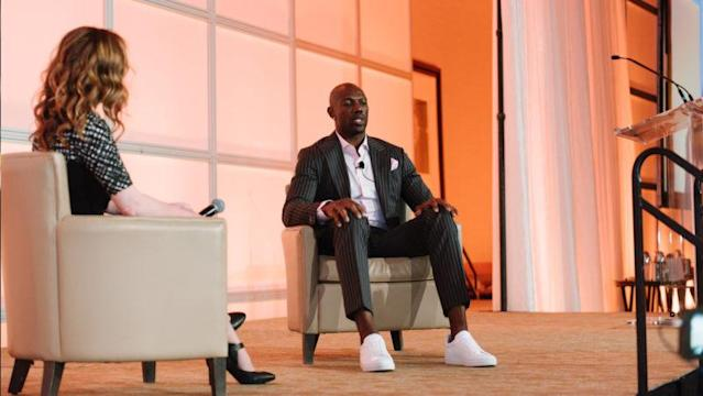 Six years removed from his playing days, Terrell Owens is still contributing to the sport of football. He talked to CFL.ca's Jim Morris before attending the Lions' annual Orange Helmet Awards.
