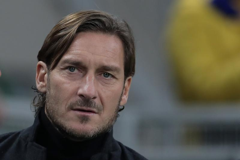 Francesco Totti (Photo by Emilio Andreoli/Getty Images)
