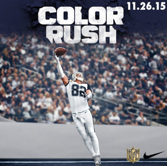 The Thanksgiving uniforms for the Cowboys and Panthers are the best ... 6969e1244