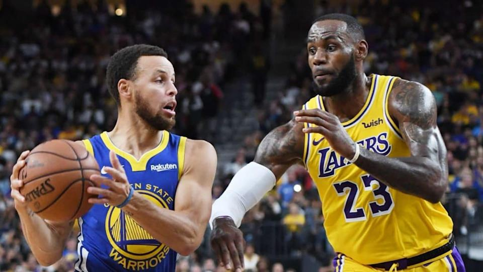 Curry e Lebron | Ethan Miller/Getty Images