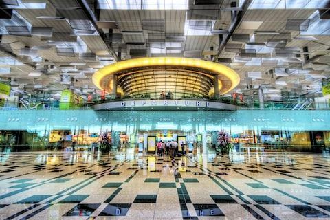 The lavishly appointed Changi Airport - Credit: © 2009 :: Artie   Photography ::/Artie Photography (Artie Ng)