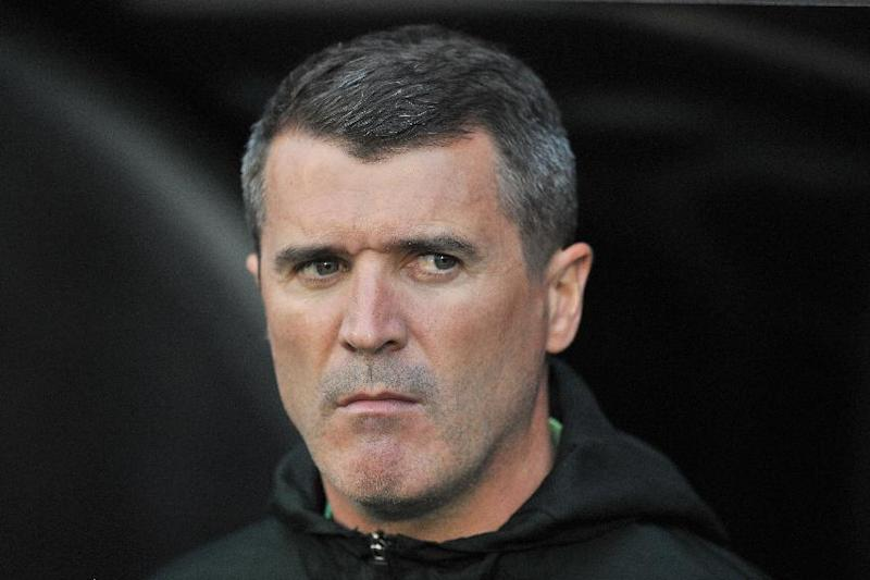 Republic of Ireland's assistant manager Roy Keane pictured before the international friendly between Italy and the Republic of Ireland at Craven Cottage in London on May 31, 2014