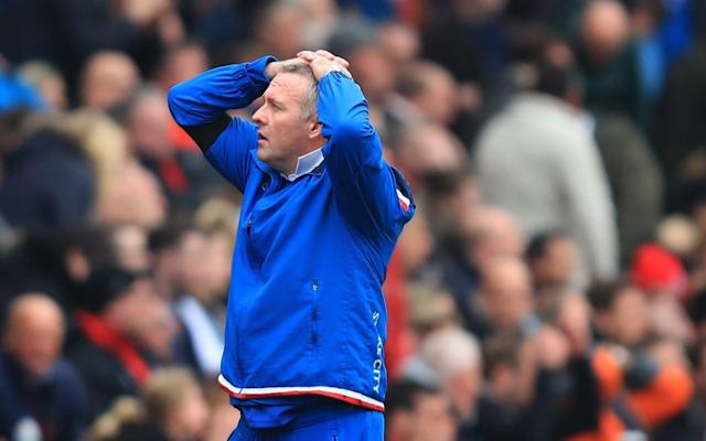 """Paul Lambert has claimed saving Stoke from Premier League relegation will be his greatest escapology act in management. Lambert is facing a huge battle to prevent Stoke's ten-year existence as a top-flight club from ending, with the club still marooned in the bottom three. The Scot has never suffered the drop before, guiding Norwich to safety in the 2011-12 season while he also managed to save Aston Villa twice during a turbulent period. He was only in the relegation zone once at Villa, before he was sacked days after a 2-0 defeat at Hull City in February 2015. But Lambert's latest survival mission is undoubtedly his most difficult yet after he was parachuted into the job in mid-January. """"I came here with only 15 games to go. I've never seen a table like this, with so many teams still in trouble, and it could go to the final day,"""" he said. """"This would be a bigger achievement than keeping Villa up two seasons running. We're at a stage where we need wins now, a million per cent, but I'd rather be going into games playing the way we are, knowing that we've got a chance. """"If I was sitting here thinking 'what are we going to do and how are we going to play', there would be a problem. """"The level of our performances has been good, even away from home, and if the players continue to have the same belief we have a chance."""" Lambert heaped praise on Joe Allen Credit: PA Stoke's season has recently suffered due to a number of incidents surrounding discipline, with Saido Berahino, Jese Rodriguez, Ibrahim Afellay and Erik Pieters all falling foul of Lambert. But Lambert insists experienced professionals such as Joe Allen – a target for West Ham in the last two transfer windows – can help guide Stoke to safety. """"The biggest compliment I can give Joe Allen is that he does it every week. His consistency levels are incredibly high and he's a manager's dream because he never gives you an ounce of problem,"""" he said. """"You know exactly what you're going to get in training and in games. H"""
