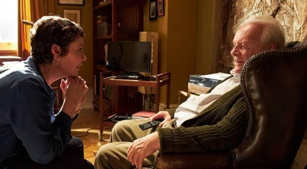 Olivia Colman and Anthony Hopkins, who won the best actor Oscar, star in The Father.