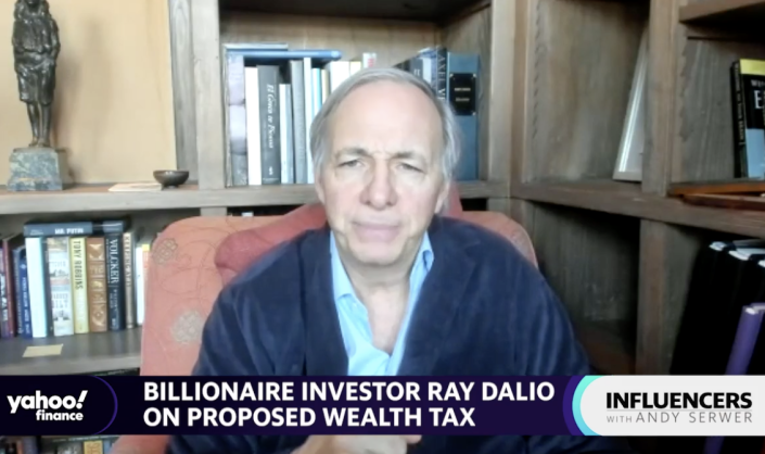 Billionaire investor Ray Dalio, the founder of hedge fund Bridgewater Associates, speaks with Editor-in-Chief Andy Serwer on