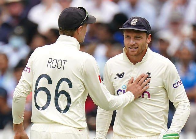 Joe Root (left) has looked to Buttler for counsel with Ben Stokes out.