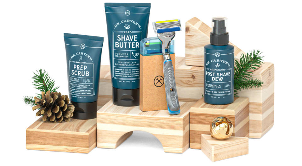 Shave and skincare products for the fellas. (Photo: Dollar Shave Club)