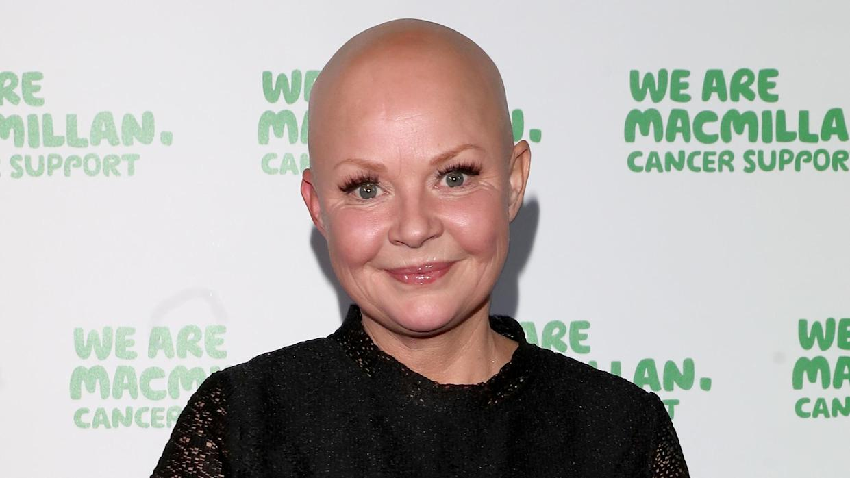 Gail Porter suffers from alopecia. (Luca Teuchmann/WireImage)