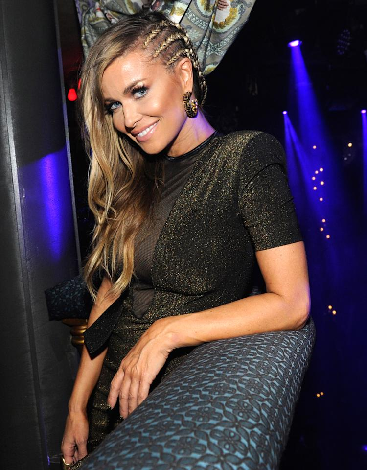 LAS VEGAS, NV - DECEMBER 31:  Actress Carmen Electra celebrates New Year's Eve at The Act at The Palazzo on December 31, 2012 in Las Vegas, Nevada.  (Photo by David Becker/WireImage)