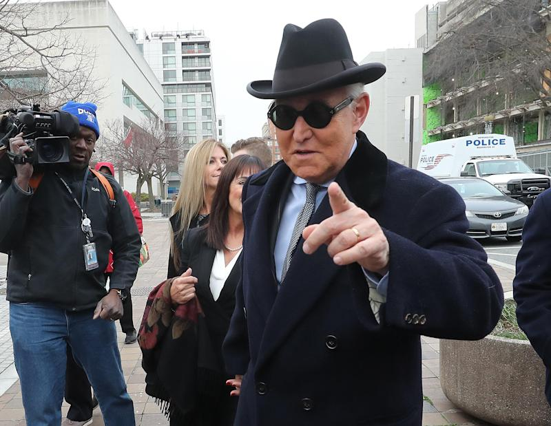 Roger Stone lawyers ask for judge's recusal