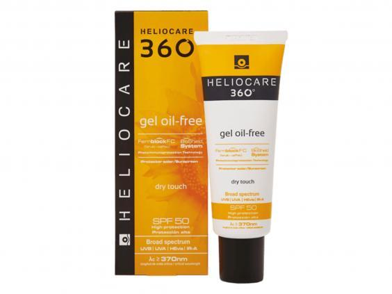 A gel-based SPF will suit combination skin best and one with a mattifying finish will keep an oily T-zone to a minimum (Sknclinic)