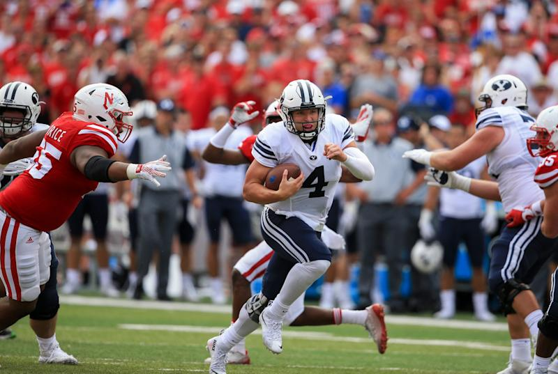 Nike outfitting BYU QB Taysom Hill with a custom shoe 45479cb42