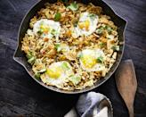 """<p>This recipe never fails to enchant anyone who makes it. Have it for breakfast, lunch, or dinner. Use best-quality <a href=""""https://www.myrecipes.com/t/vegetables/potatoes"""" rel=""""nofollow noopener"""" target=""""_blank"""" data-ylk=""""slk:potato"""" class=""""link rapid-noclick-resp"""">potato</a> chips—medium-thick and not too brown (otherwise the dish will taste burned).</p>"""