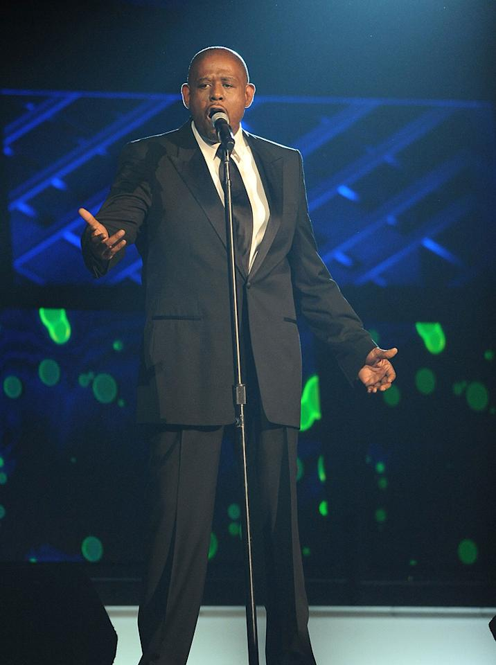 """<a href=""""http://movies.yahoo.com/movie/contributor/1800022007"""">Forest Whitaker</a> performs during the 18th Annual MTV Movie Awards - 05/31/2009"""