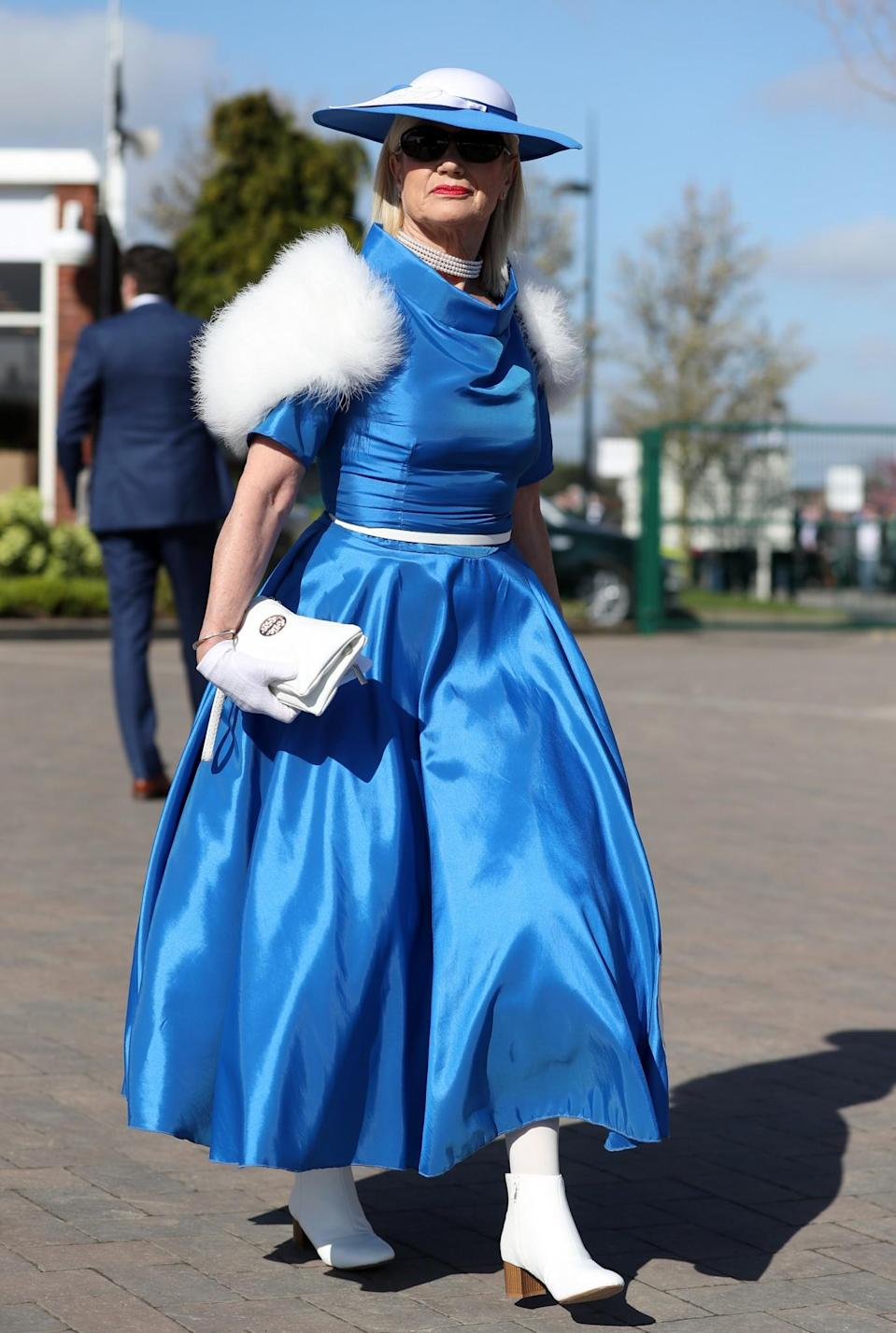 <p>Throwing out all of those Elsa from Frozen vibes [Photo: PA] </p>