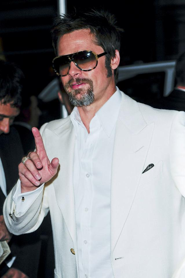 """With tension escalating between him and Angelina Jolie, Brad Pitt has """"decided to claim his career -- and his life -- even if he has to go to Siberia to do it,"""" reports <i>In Touch</i>. The mag says Pitt is headed to the snowy region to film """"The Tiger"""" after having taken care of his and Jolie's six kids while she made movie after movie. According to <i>In Touch</i>, when Jolie heard of Pitt's plans, she """"went through the roof."""" Click over to <a href=""""http://www.gossipcop.com/brad-pitt-angelina-jolie-siberia-tiger/"""" target=""""new"""">Gossip Cop</a> for the real story about Brangelina's cold war. Ray Tamarra/<a href=""""http://www.wireimage.com"""" target=""""new"""">WireImage.com</a> - August 12, 2009"""